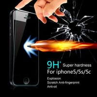 Wholesale Iphone Plus S Plus quot Screen Protector Premium Tempered Glass H Hardness Anti scratch From Knife High Definition Ultra Clear
