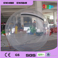 Cheap 2m Clear Inflatable Water Ball Price  Water Walking Ball  Human Hamster Ball  Zorb Ball Water Rolling Ball for sale