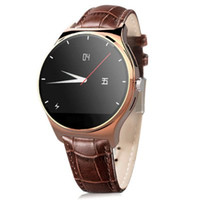 anti dialer - Bluetooth RWATCH R11 smartwatch waterproof Smart Watch Anti lost MTK2501 IP67 Genuine Leather Band Dialer SMS Pedometer Anti Lost