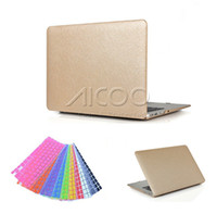Wholesale For inch silk exterior Full Protective case for Macbook Air Pro Retina For MacBook Colorful Cover Keyboard Protector