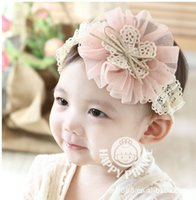 baby trading - Foreign Trade Korean Children Flower Hair Accessories Yuan Jewelry Shop Baby Headband Children s Hair Band