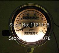 balance instrument - New Universal Motorcycle Dual Odometer Speedometer Gauge Test Miles Speed meter speedometer suzuki meter balance