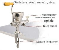 Wholesale Factory Direct Sale ECO Healthy heavy duty commercial juicer stainless steel wheatgrass juicer