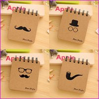 Wholesale Mini Journal Diary Notebook Vintage Retro Student Portable Notepad Book Memo Pad for Kids Stationery Office School Supplies