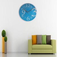 best living room colors - Best Sales colors Lovely Sweet Large Circular Quartz Round Wall Clock for Home Kitchen Bedroom Office Living Room Study