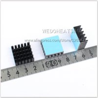 amd package - x22x10mm Radiator Heat Sink Cooler With Tape Black Anodized For CPU and Metal Ceramic BGA Packages and PC