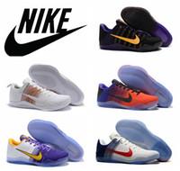 woven basket - Nike Kobe Elite Low PE Basketball Shoes Men Original KB Elite Kobe XI Zoom Flyknit Sneakers Retro Weaving Kobe Boots size US7