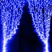 solar led icicle christmas lights canada wholesale 33m 300led curtain icicle lights string