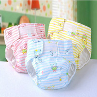 Wholesale 2016 NEW Waterproof Soft cotton washable Baby Nappy changing for Baby diapers M L XL