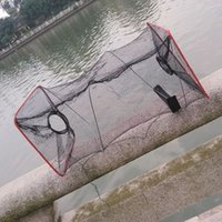 Cheap 2016 New Fishing Trap Net Mesh for Crab Prawn Shrimp Crayfish Lobster Bel Live Bait Pot