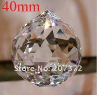 Wholesale AAA Quality Guaranteed mm K9 Clear Crystal Faceted Balls Crystal Chandelier ball Best Selling