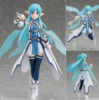 action game online - Sword Art Online Figures Asuna Figma pvc action figure Water Spirit Asuna Figma collection game model toys gifts approx cm toy