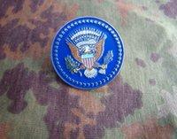 art obama - The United States presidential Service Badge metal identification badge copper Mini Obama