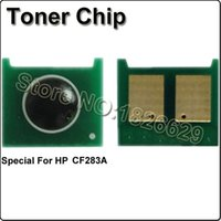 Wholesale 283A Toner cartridge chip CF283A Special Printer chip FOR HP LaserJet Pro MFP M125 M127fn M201 M225 printer spare parts