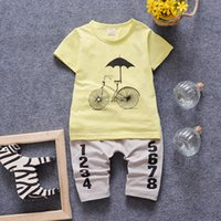 boys and girls clothing - 2016 new style Baby clothes sets summer boys girls clothing sets baby boy clothes set short sleeve and pants