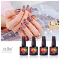 arte fashion - Fashion Colors Changing Gel Arte Clavo Nail Art Soak Off UV Gel Nail Polish Manicure Set