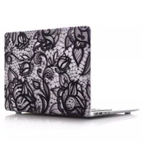 Lace Design Macbook Laptop Netbook Marble Design Hard Housse pour ordinateur pour 11.6 Air 13.3 15.4 Pro Retina Coquille de protection