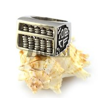 abacus china - Unique stainless steel casting ring with An abacus for men in china