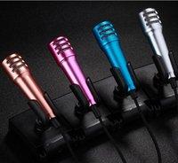 Mini Microfone Karaoke condensador de micrófono de ruido alrededor de cancelación de alta fidelidad para móviles / Tablets / PC / Laptop para Podcast Music Record