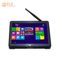 Wholesale Original quot Screen PIPO X8 Dual OS TV BOX Windows Android Intel Z3736F Quad Core GB GB GB Mini PC ScreenTablet HDMI