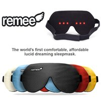 Wholesale 100 original Remee Remy Patch dreams mask of men and women dream sleep eyeshade Inception dream control lucid dream