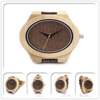 atm movement - High quality new ATM waterproof wooden watch with quartz movement nature bamboo wood watches