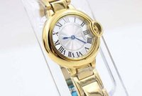 ball womens watch - Luxury Male Yellow Stainless Steel Watches Ball Golden woMens Brand Fashion Sytyle Quartz Wristwatch Modern Dress Ladies Sport Watch