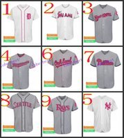best detroit - Detroit Tigers Baseball Cool Base Jersey Best quality Authentic Jerseys Embroidery Logo Size M XL Mix Order