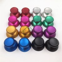 best joystick - Aluminum Thumbstick Cap Replacement for PS4 Best Quality Cheap Colorful Controller Metal Joystick Cap for Play Station