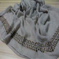 2016 Multi diseña la bufanda agradable de los cequis de las mujeres de Paillette de la bufanda agradable de los cequis La bufanda islámica de los bufandas de los bufandas de la bufanda del estilo de los bufandas FS6820