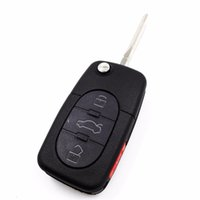 audi keyless remote - Replacement Remote key Keyless Entry Buttons MHz D0 M D0837231M with chip For Audi TT A6 Quattro