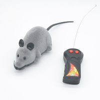 Wholesale New Remote Control RC Rat Mouse Wireless For Cat Dog Pet Toy Novelty Gift B001