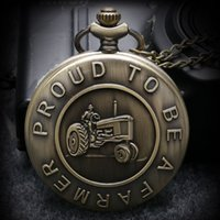 acrylic history - Remember The History quot United States Veteran quot Bronze Pocket Watch Chain With Necklace P978