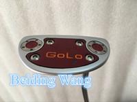 Wholesale 2016 New Golf GOLO GOLO Putter Inch Steel Shaft Golf GOLO Putter Clubs