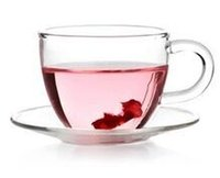 Wholesale New ml Clear Glass Tea Cup Coffee Cup With Handle and Saucer Heat Resistance Drinking Cup