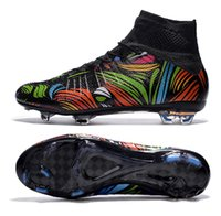 Painting Medium - New X SUPERFLY IV Painting Men s soccer cleats customize name and No football boots ID shoes