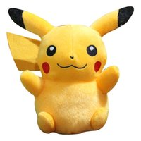 Wholesale Pikachu go peluche all figures Go Pikachu amp Bulbasaur amp charizard cuscini emoji pillow Pikachu Plush TOYS