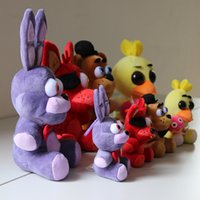 animal games kids - 15CM EMS Free Five Nights At Freddy s Plush pendant set five nights at freddy Stuffed Animals toys doll