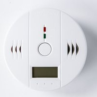 Wholesale best selling home safety co detector alarm LCD display carbon monoxide