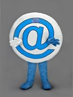 advertising email - new EMAIL MASCOT Costume hot sale cartoon symbol carnival fancy dress for adult advertising