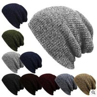 Wholesale Hot Sale Fashion Knitted Beanie Autumn Casual Cap Women Warm Winter Hats Unisex Men Casual Hat