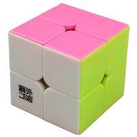 big brain - BestCube hot sale YongJun MoYu Magic Cube x2x2 Stickerless Speed Yupo Cube Brain Teaser Colorful Gift