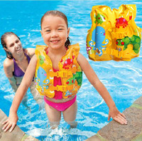 baby swimming float suit - Baby Kid Toddler Child Infant Inflatable Float Pool Beach Life Jacket Swim Safe Vest Swimming Safety Aid Suit Life Saving Survival Suit