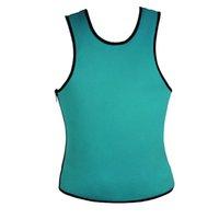 Wholesale XL Plus Size Men Slimming Vest Neoprene Shaper Waist Trainer Waist Cincher Sauna Suit Hot Shaper Body Training Corset L