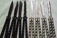 Folding Blade butterfly knives - butterfly benchmade BM42 BM43 BM47 BM49 jilt knife Free swinging Knife hunting knife gift knife camping knife knives freeshipping