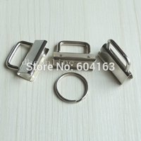 Wholesale ring basic Key Fob Hardware keychain Split ring for wrist Wristlets Cotton quot mm WS