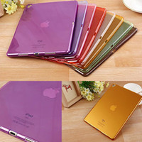 beautiful ipad - Beautiful Colorful Candy Transparent soft TPU for Apple ipad pro inch ipadpro tablet Cover shell case coque