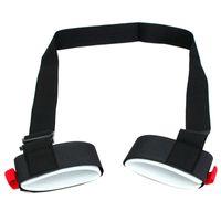 Wholesale Black Nylon Adjustable Portable Double Board Ski Bandage Double Plate Strap Fixed Board To Prevent Loose Price