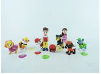 toys - 8 PAW Dog Doll Patrolling Collection FIGURE Toys cm Kids Toys For Boys Girls Gift