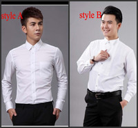 best quality dress shirts - Top Quality Groom Shirts Best Man Shirts Wedding Prom Shirt Standard Size J1